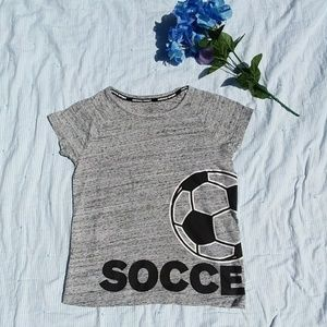 Justice Shirts & Tops - Justice • Sport Soccer Short Sleeve Tee Girls